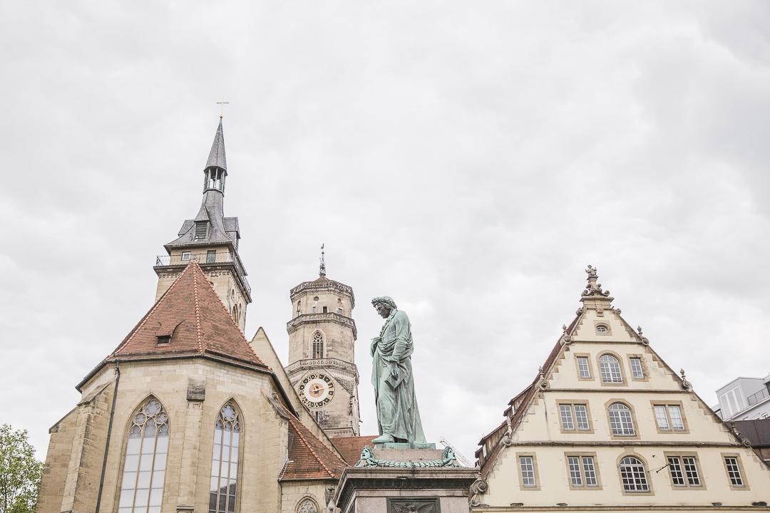 Les toits de Schillerplatz - Stuttgart