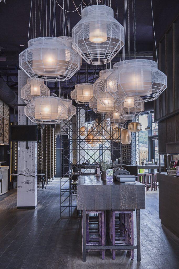 l'intérieur du Giun Yuu restaurant asiatique de Stuttgart