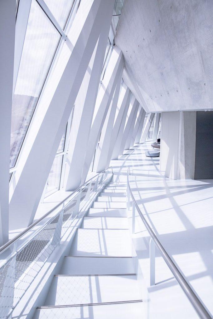 Le musée baigné de soleil