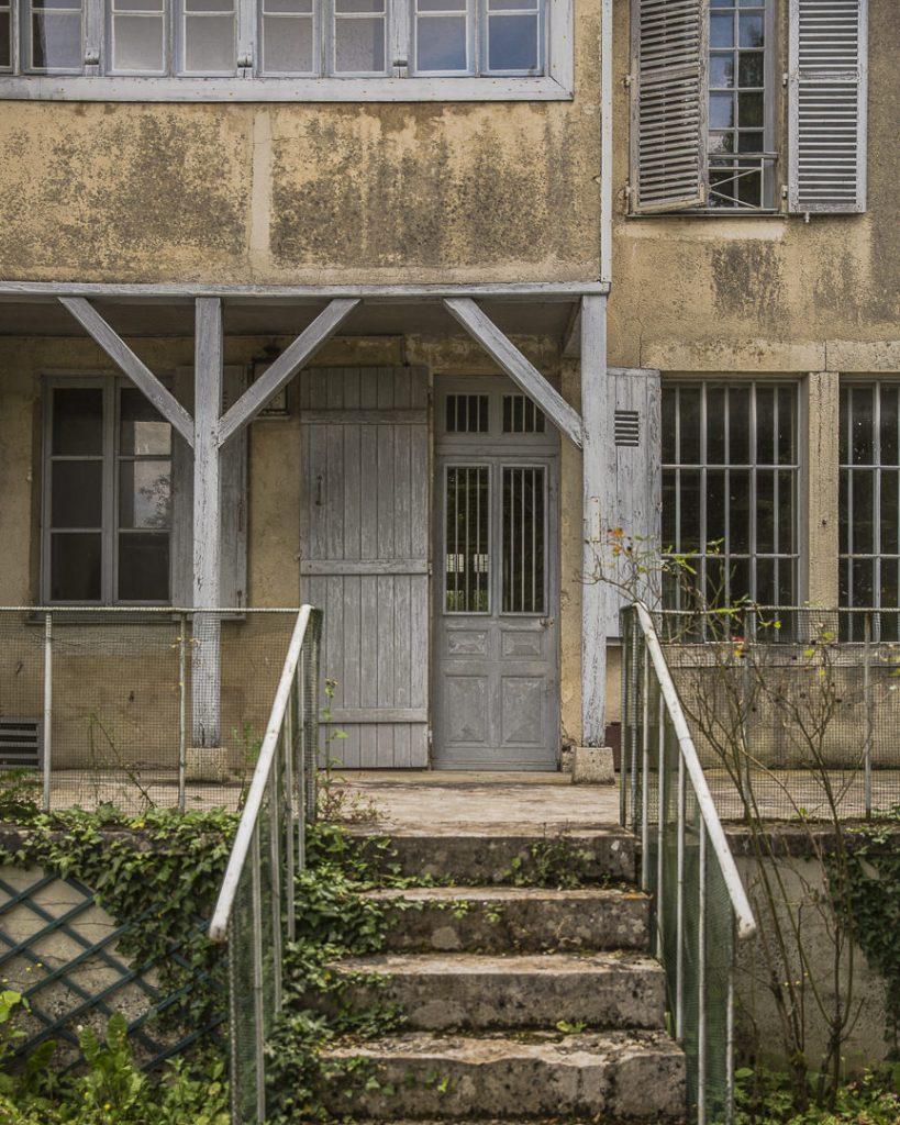 La maison de Pierre Auguste Renoir côté jardin