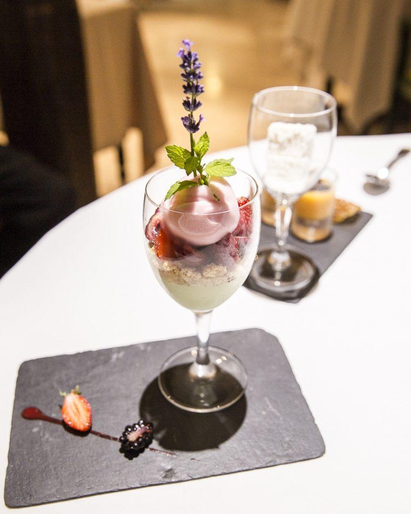 Dessert restaurant gastronomique Au vieux pressoir dans l'Aube