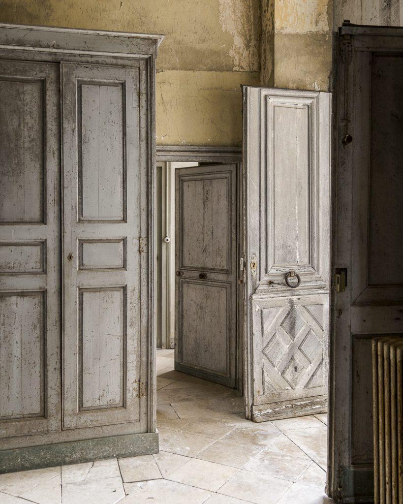 Portes intérieures du chateau de Vaux - Champagne