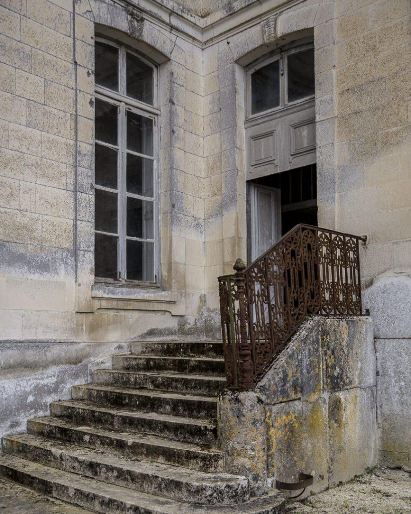 Perron du chateau de Vaux