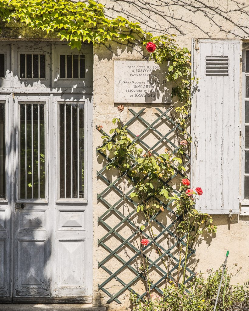 Perron de la maison des Renoir
