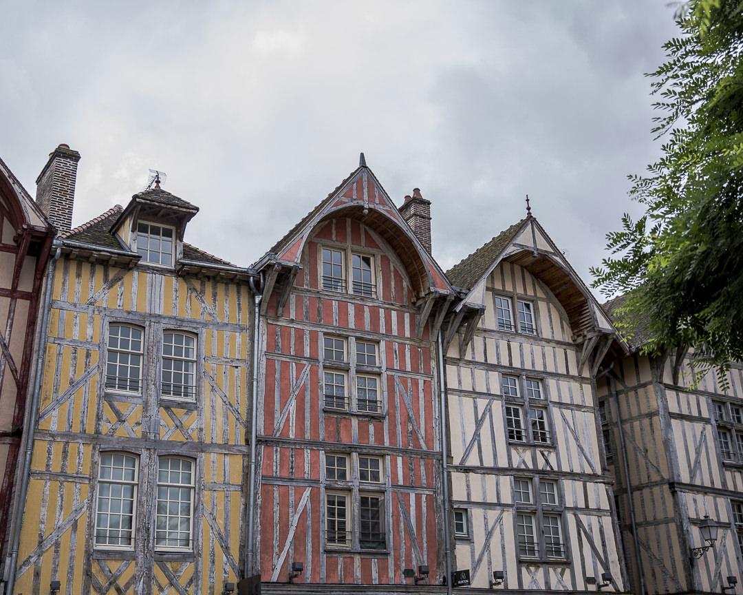 maisons à pans de bois Troyes