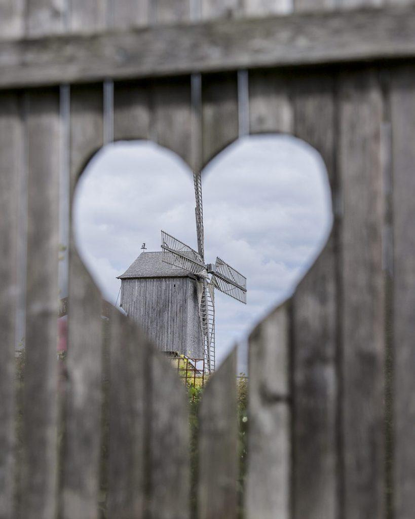 Coeur au moulin de Dosches