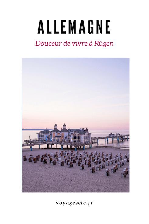 Découvrez Rügen, une ile située sur la mer baltique en Allemagne