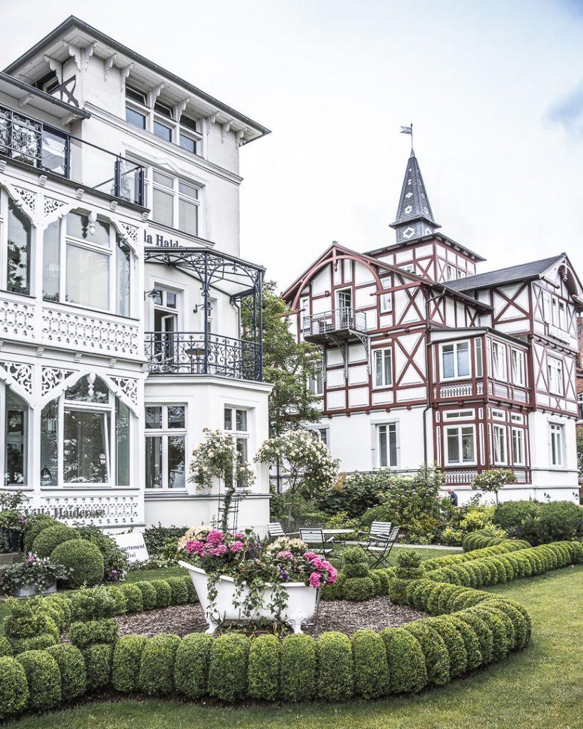 Originalité de l'architecture du front de mer de Binz - Ruegen, Allemagne