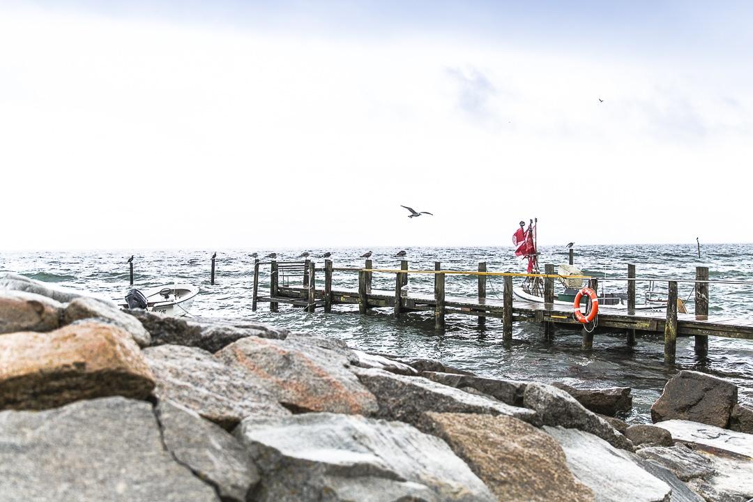 Port de Vitt sur l'ile de Ruegen Allemagne