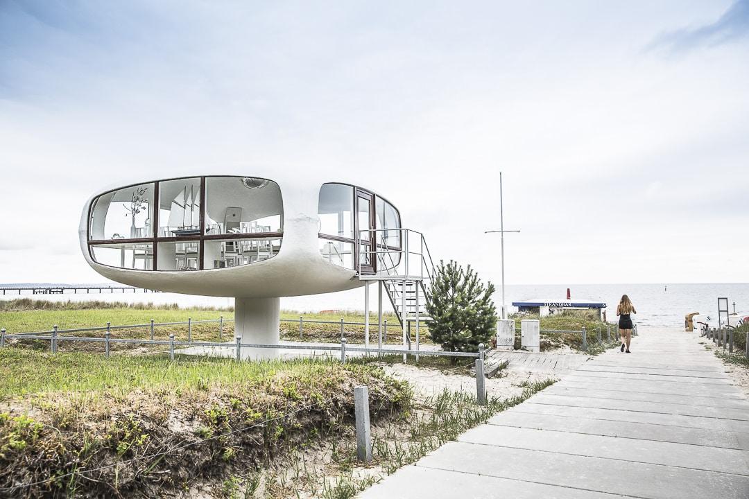 Ancienne cabine de surveillant de baignade - Ruegen, Allemagne
