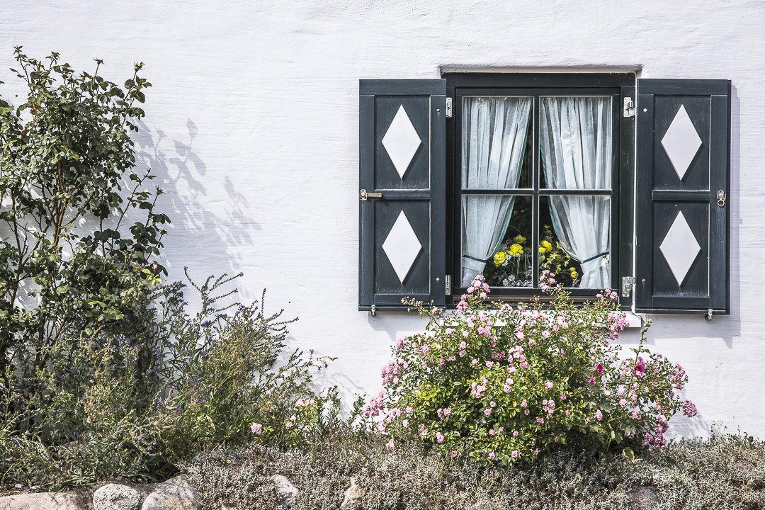 Fenêtre sur la péninsule de Mönchgut