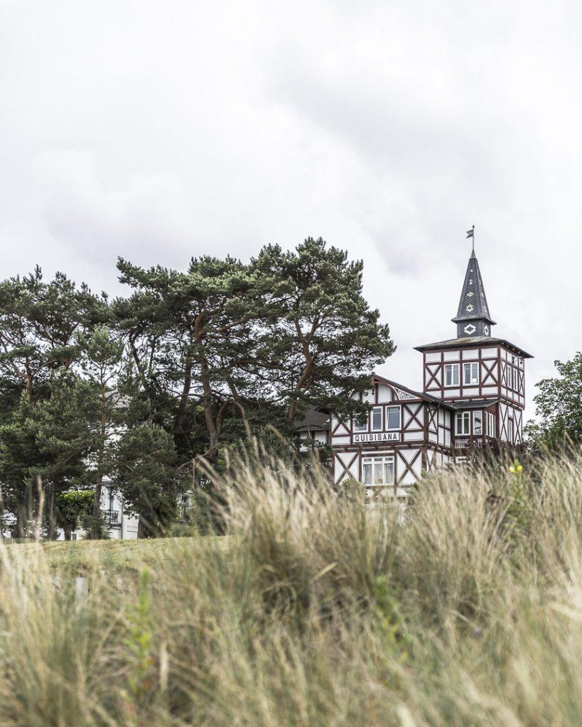 Architecture du front de mer à Binz - Ruegen, Allemagne