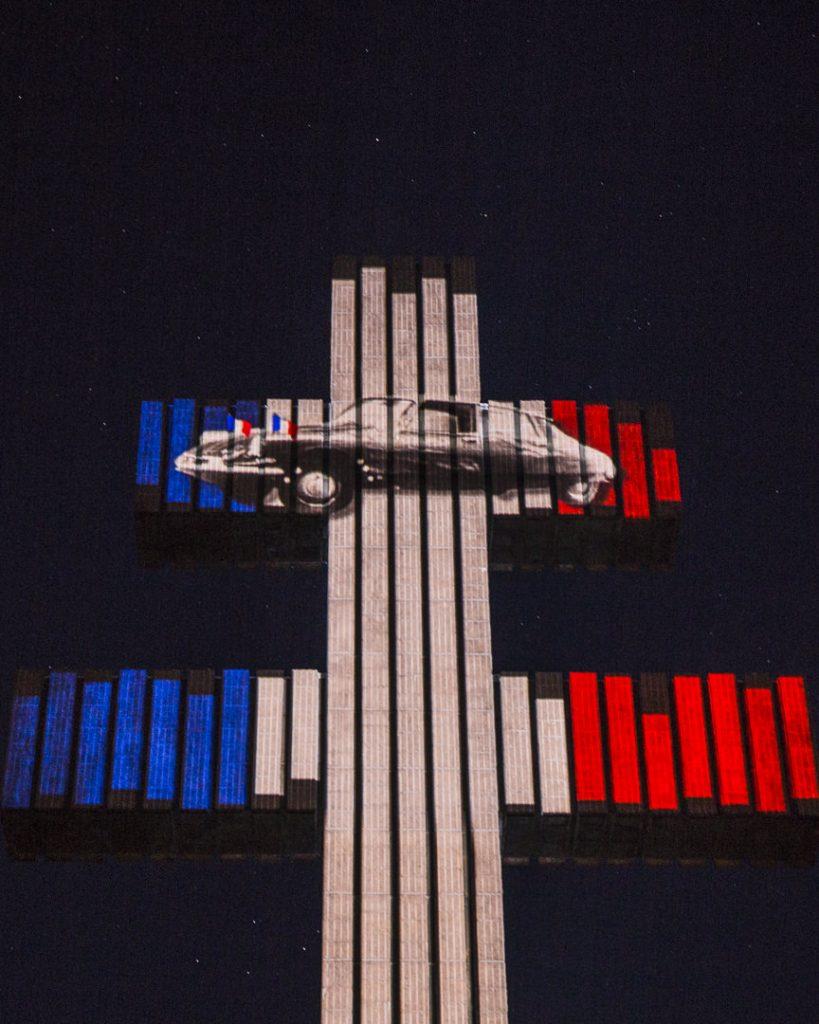 Son et Lumière sur la croix de Lorraine