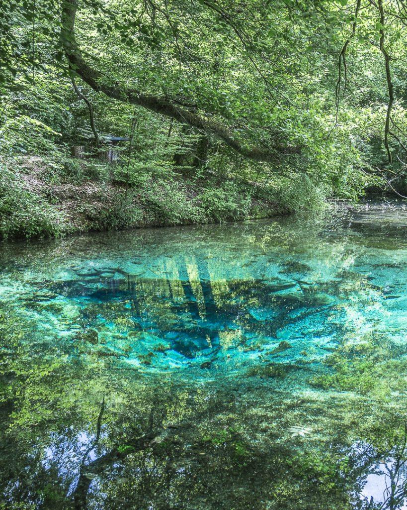 La source bleue Haute marne