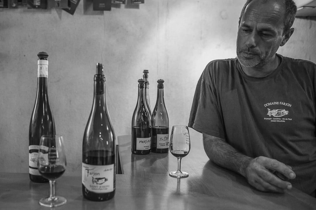 Week-end dans la loire : rencontre avec le vigneron Thierry Farjon du domaine Farjon - Loire, France