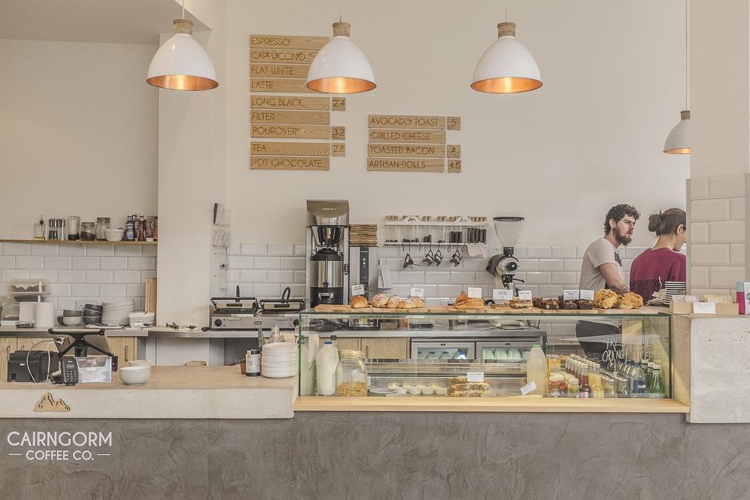 Cairngorm coffee Edimbourg, Ecosse