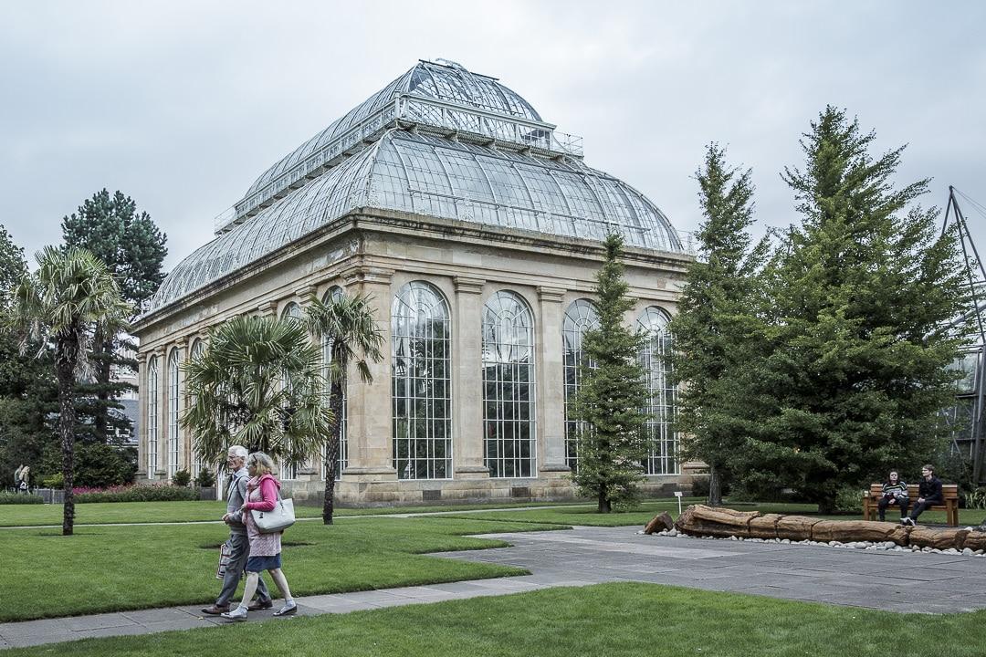 Serre des jardins botaniques d'Edimbourg