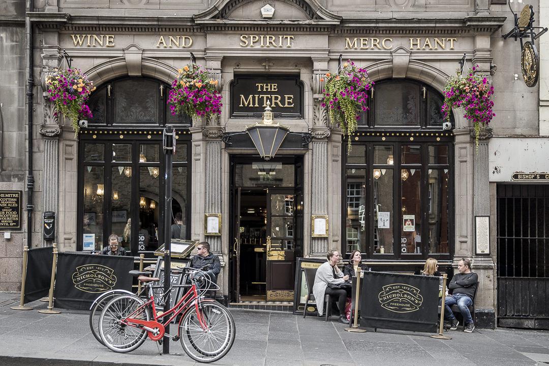 The Mitre, pub traditionnel Edimbourg