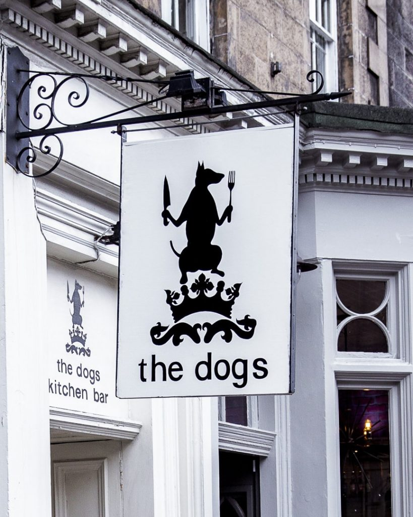 The dogs, super resto d'Edimbourg