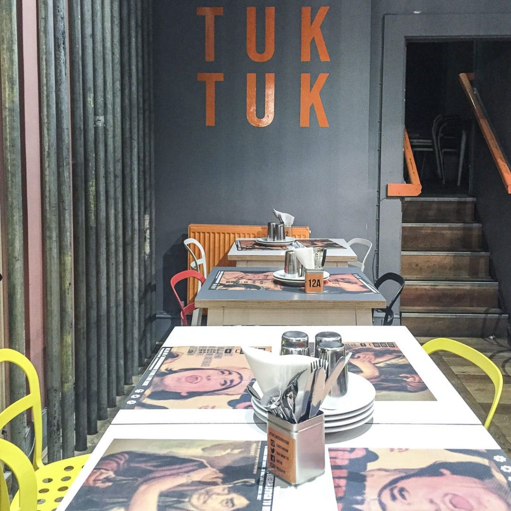 Tuk tuk indian street food - Edimbourg Ecosse