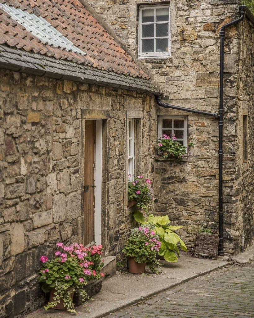 Maison de pierre dean Village - Edimbourg, Ecosse