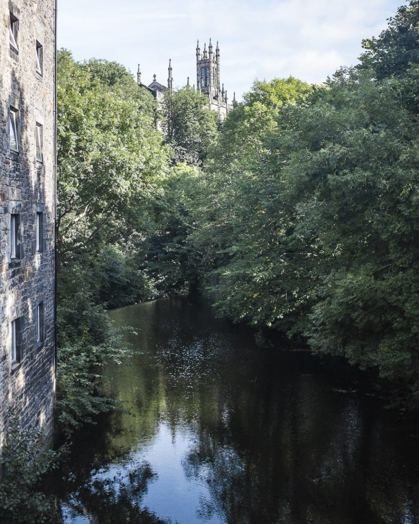 Sur le pont de Dean village - Edimbourg Ecosse