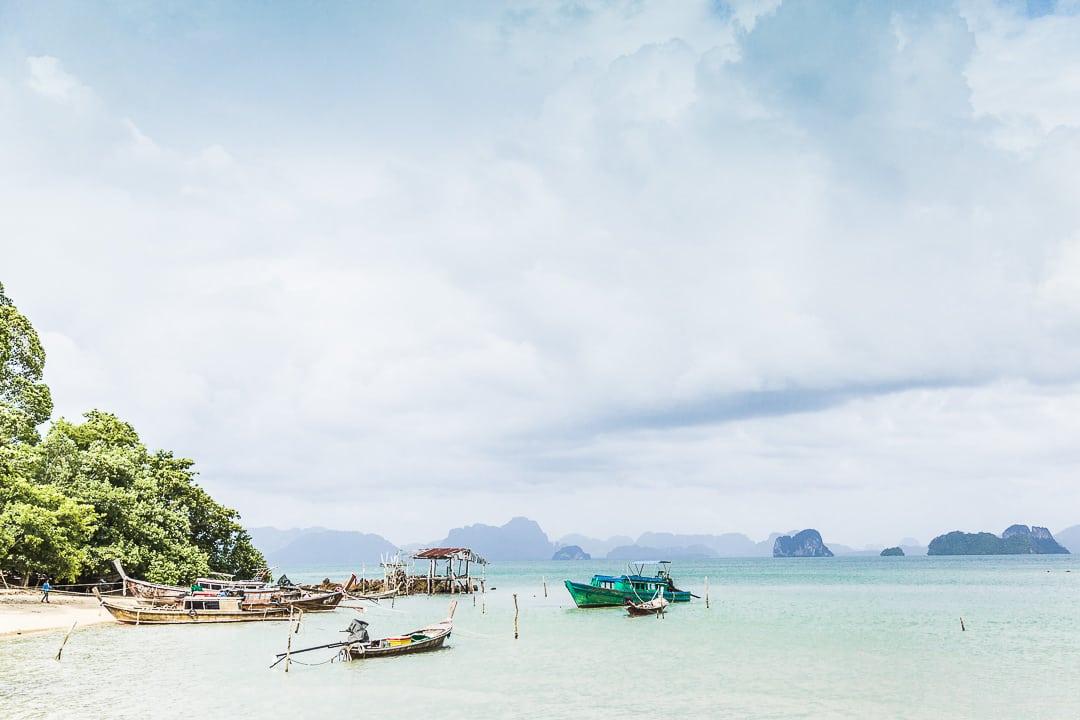La pêche est la principale activité sur Koh Yao Noi - Thailande