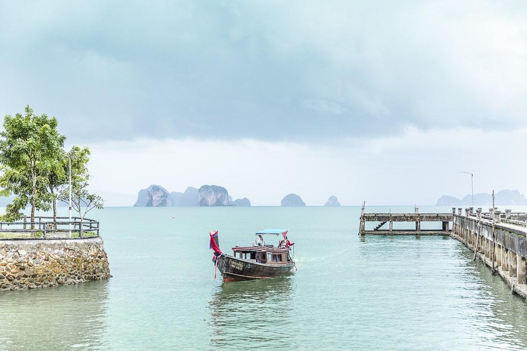 Arrivée sur Koh Yao Noi - Thailande