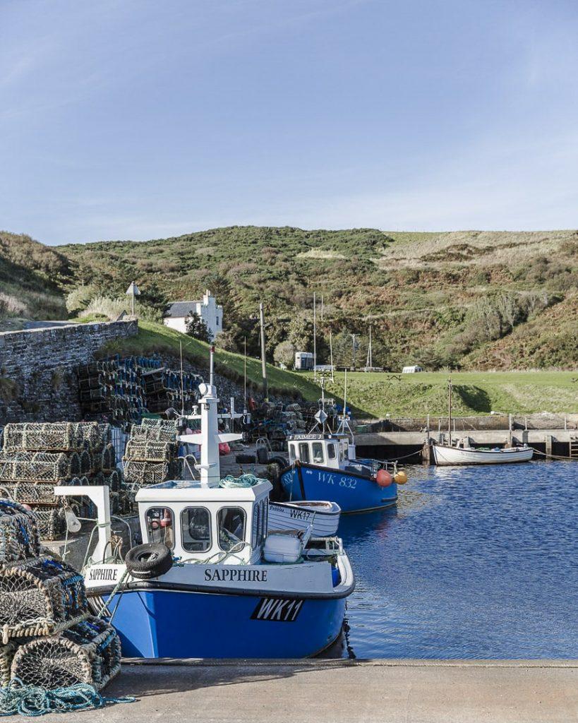 Lybster, port de pêche dans les highlands en Ecosse