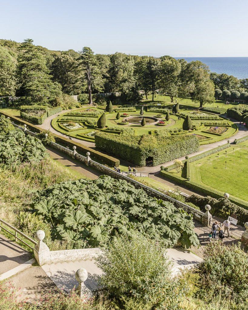 Jardins du chateau de Dunrobin, Ecosse