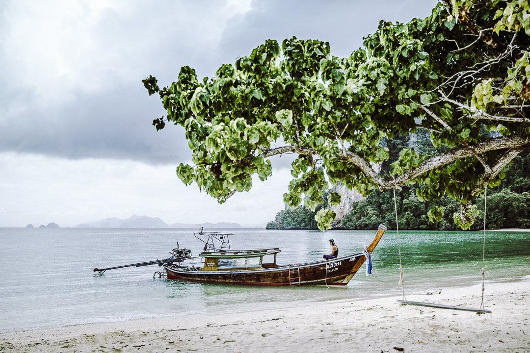 Tranquille sur Koh Pak Bia une ile de la baie de Phang Nga en Thaïlande