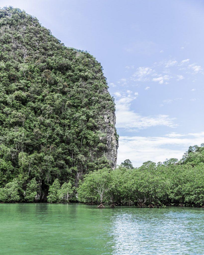La mangrove de la baie de Ko Hong - Baie de Phang Nga, Thaïlande