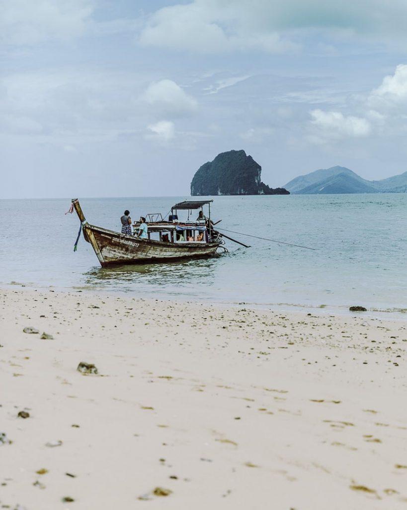 Koh Nok, un banc de sable à 2 pas de Koh Yao Noi - Baie de Phang Nga, Thaïlande