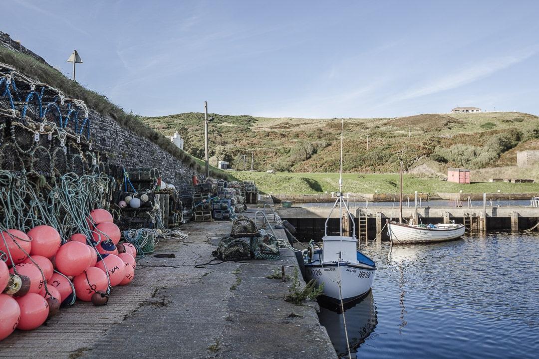 Lybster, port de pêche sur la North Coast 500 - Ecosse
