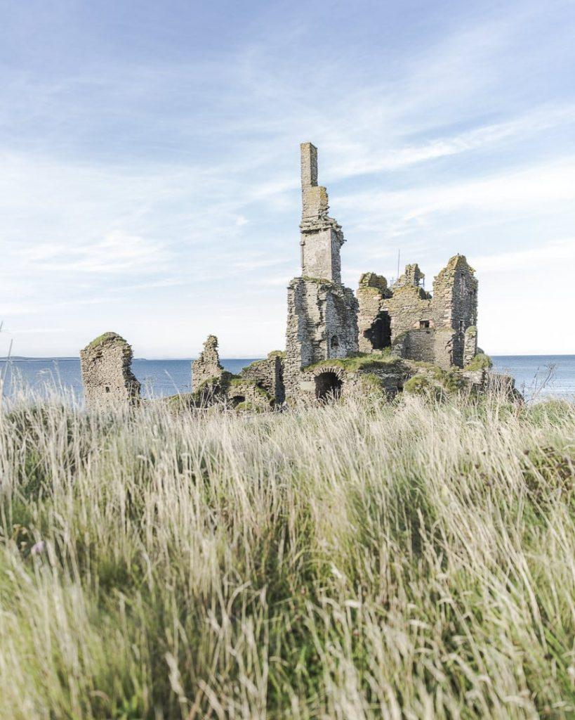 Les ruines du chateau de Sinclair-Girnigoe - Caithness Ecosse