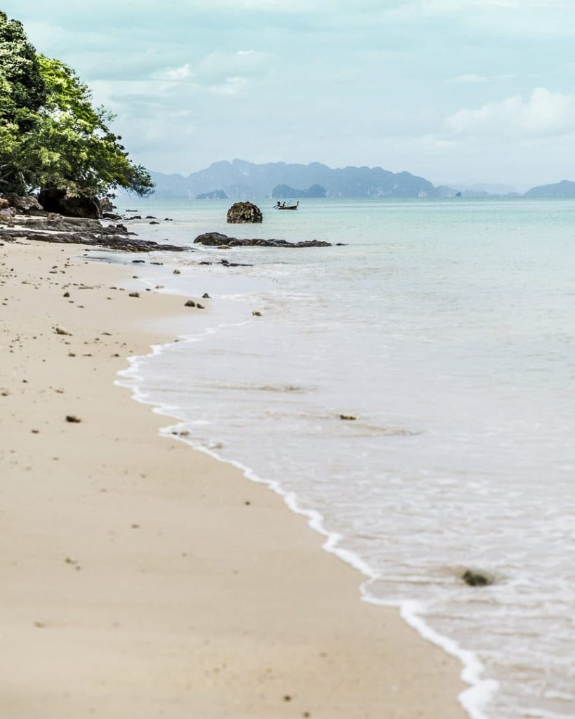 Lo Mhoon beach, la plage du six senses sur Koh Yao Noi - Thaïlande