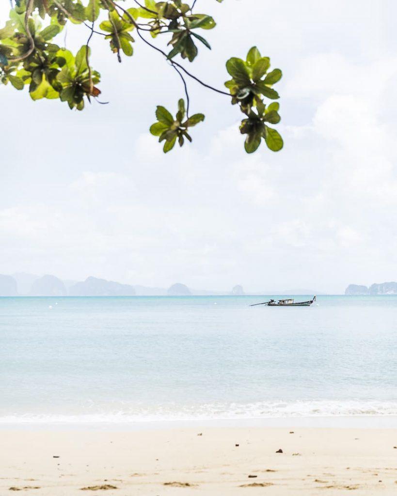 Plage du Six senses à Koh Yao Noi - Baie de Phang Nga Thailande