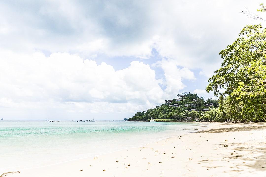 Plage du six senses Koh Yao Noi - Baie de Phang Nga Thailande