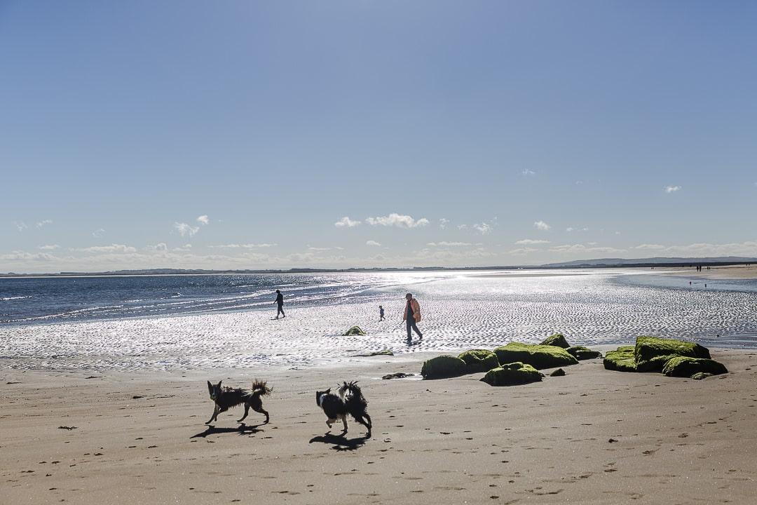 Promenade sur la plage de Durnoch - North coast 500 Ecosse