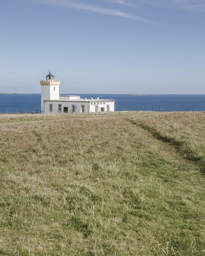 Le phare de Duncansby head sur la North coast 500 en Ecosse
