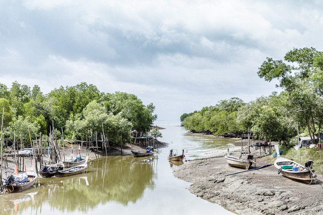 Village de pêcheur sur Koh Yao Noi - Baie de Phang Nga Thailande