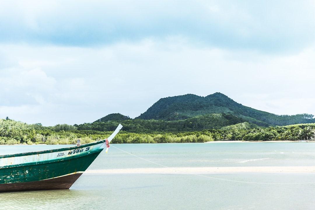 Vue sur Koh Yao Noi - Thailande
