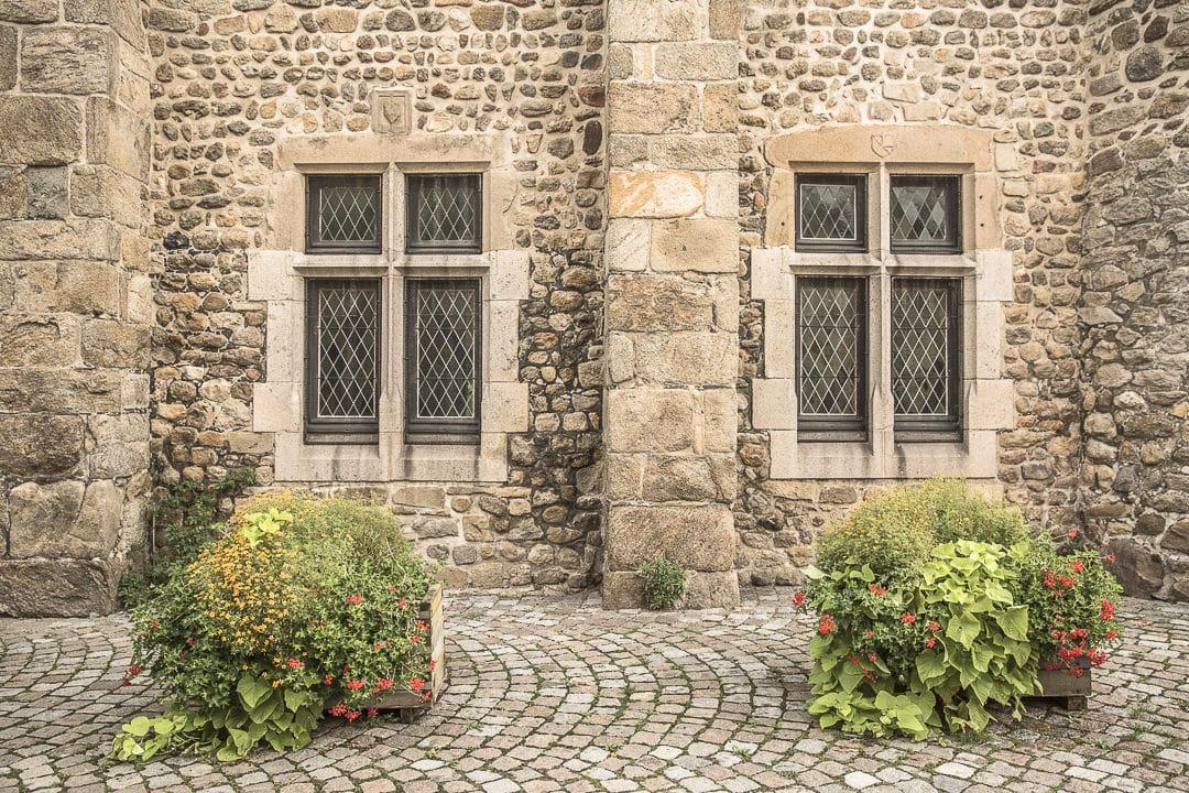 Ensemble monastique de Champdieu - Loire, France