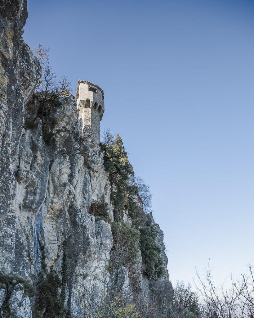 La tour numéro 2 de Saint Marin