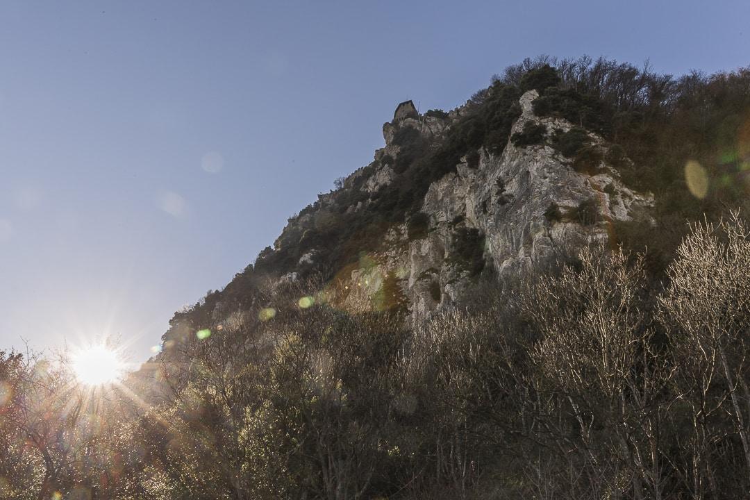 Falaises du mont Titan à Saint Marin