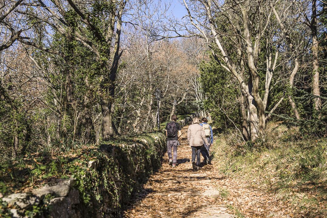 Le sentier des tours à Saint Marin