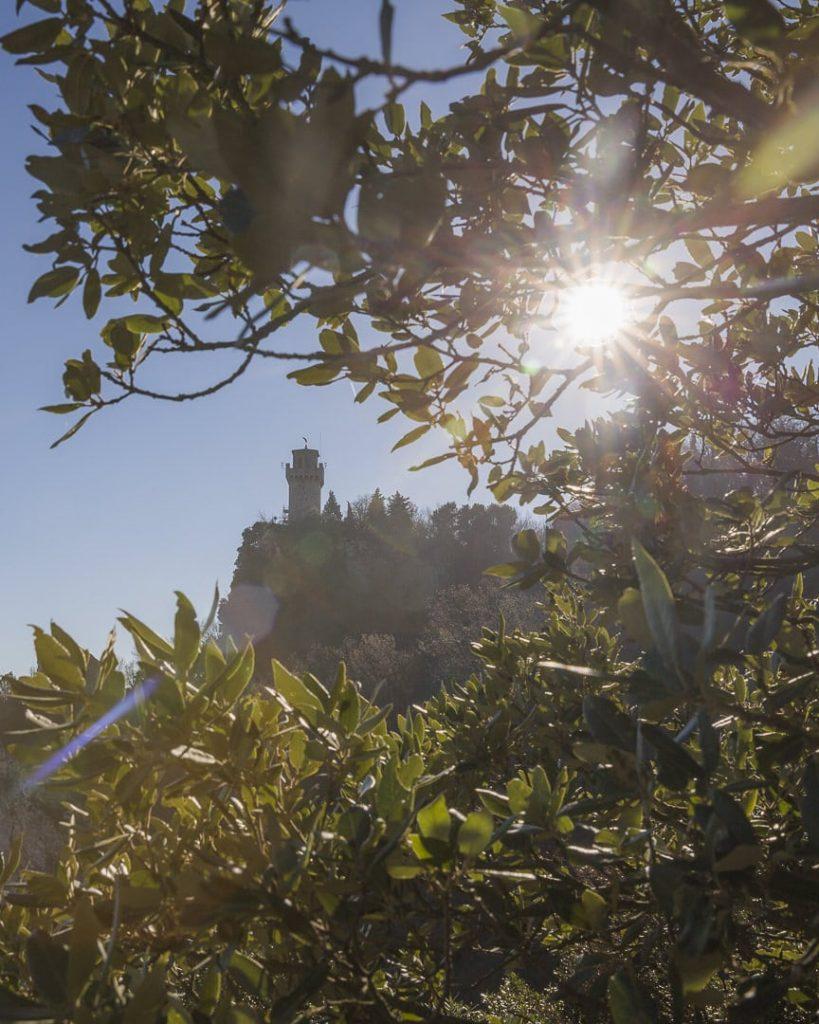 Soleil sur la 3ème tour de Saint Marin, la plus romantique !