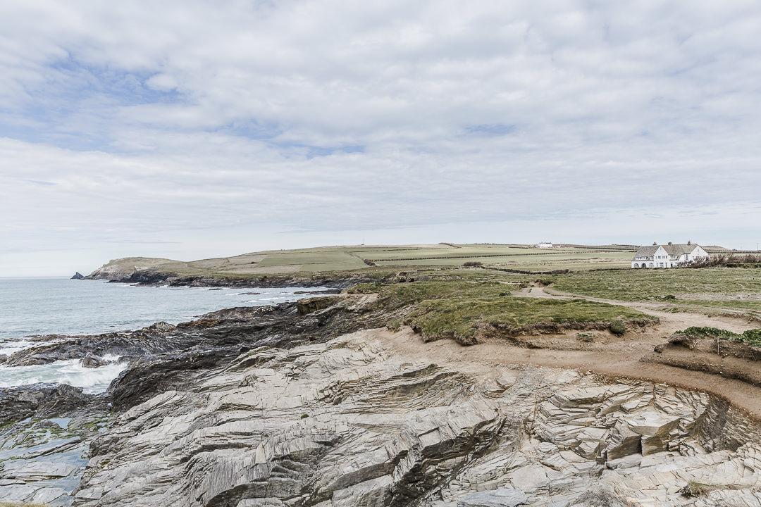 Les côtes de Cornouailles, Angleterre