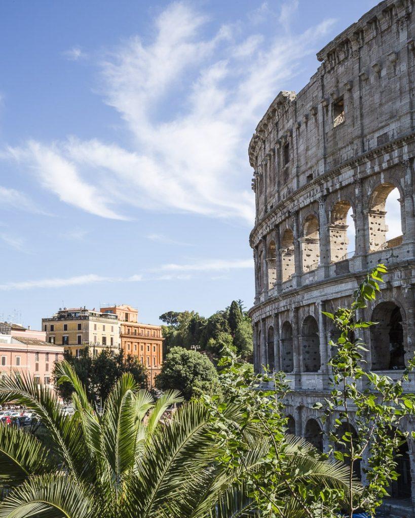 Vue sur le Colisée à Rome, Italie