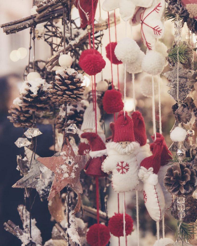 Les décorations de Noël du marché de Kempten en bavière - Allemagne